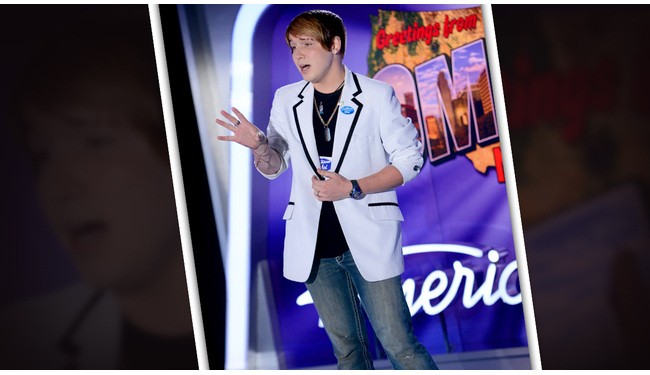 Christopher Jones American Idol 2014 Audition
