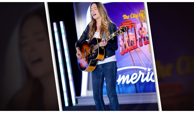 Danielle Kalil American Idol 2014 Audition San Francisco
