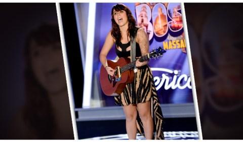 Jillian Jensen American Idol 2014 Audition Boston - Source: FOX
