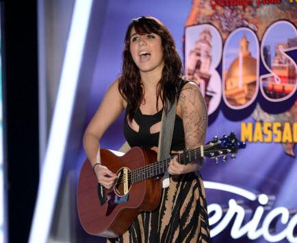Jillian Jensen American Idol 2014 - Source: FOX