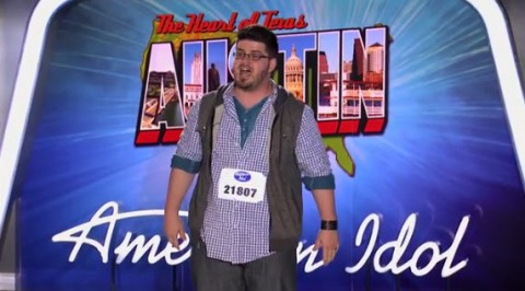 Jordan Grizzard American Idol 2014 - Source: FOX/YouTube
