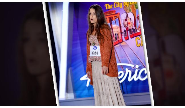 Michelle Dimov American Idol 2014 Audition San Francisco