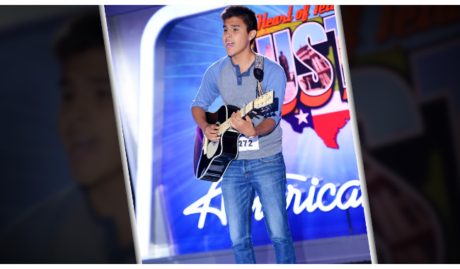 Steven Curd American Idol 2014 Audition Austin