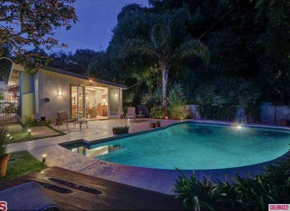 Hollywood Hills home & pool