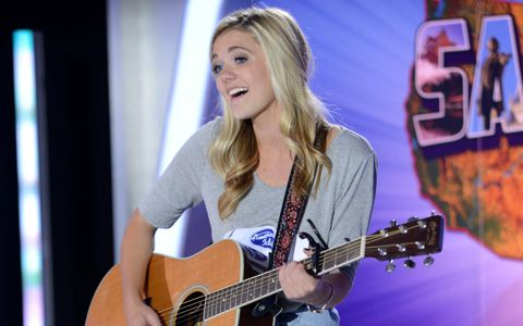 Kenzie Hall on American Idol