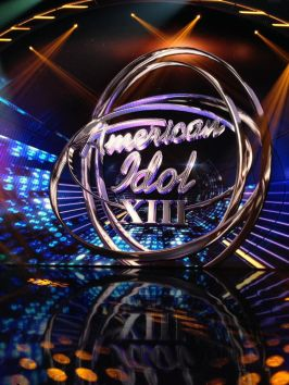 American Idol 2014 Set