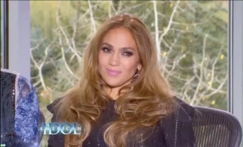 American Idol judges Jennifer Lopez