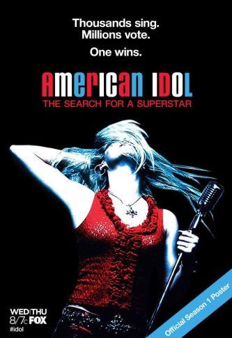 American Idol Season 1 Poster