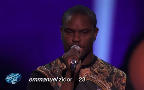 Emmanuel Zidor - American Idol 2014