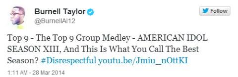 American Idol Burnell Taylor