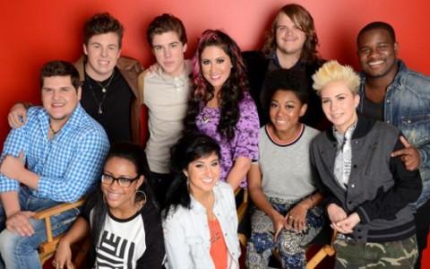 American Idol Top 10 contestants