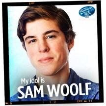 Sam Woolf on American Idol