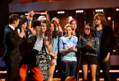 Emily Piriz says goodbye to Idol