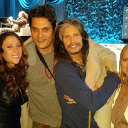 Steven Tyler with John Mayer
