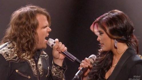American Idol 2014 Top 5 Caleb and Jessica
