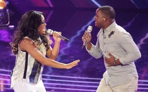 Malaya Watson and CJ Harris on American Idol