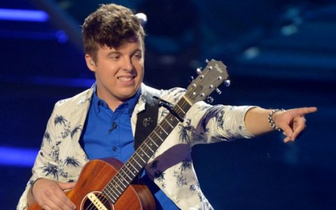 Alex Preston on American Idol 2014
