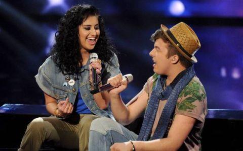 Jena Irene & Alex duet on American Idol