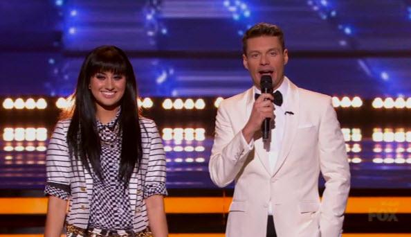 American Idol 2014 Finale Jena Irene and Ryan Seacrest