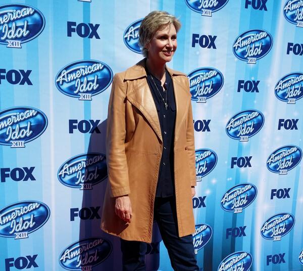 American Idol Finale Jane Lynch