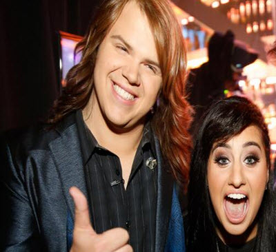 American Idol Top 2 Caleb Johnson and Jena Irene