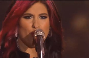 American Idol Top 4 Jessica Meuse
