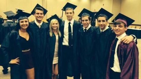 Sam Woolf graduates high school