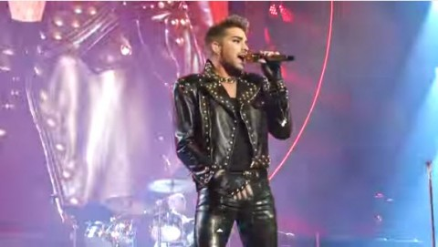 Adam Lambert with Queen (YouTube)