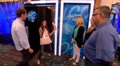 Golden Ticket for her audition on Idol
