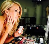 Carrie Underwood gets ready for CMAs