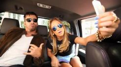 JLo & Harry Connick Jr. arrive at Idol auditions