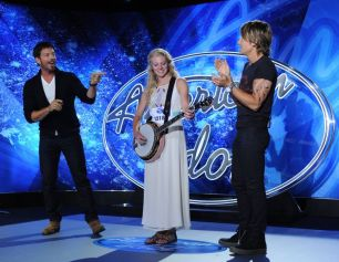 Ellen Petersen on American Idol
