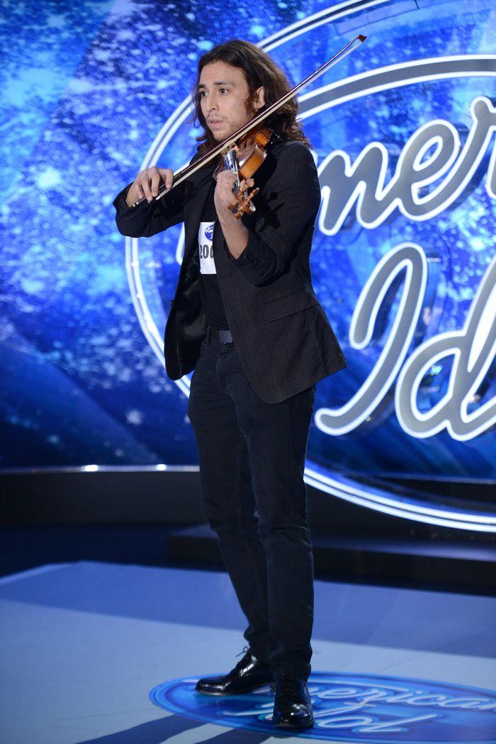 Johnny Arco on American Idol