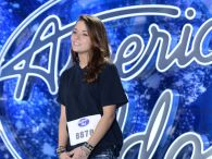 Shannon Berthiaume performs on American idol 2015
