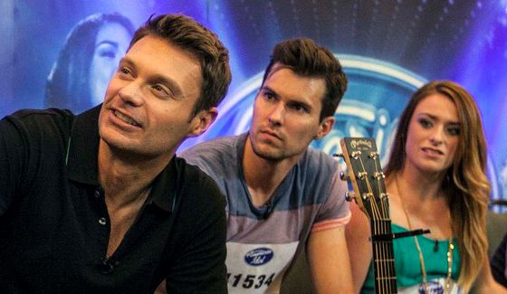 Ryan Seacrest hosts American Idol 2015 auditions