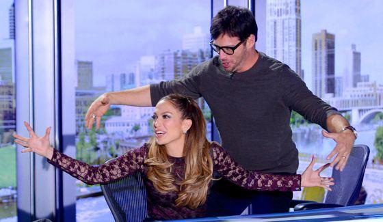 American Idol 2015 Judges Jennifer Lopez & Harry Connick Jr