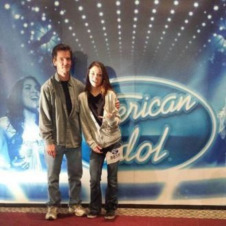 Shannon Berthiaume at American Idol auditions