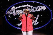 Big Ron Wilson performs in Hollywood Week
