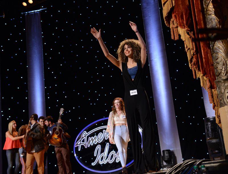 Hopefuls celebrate on Idol