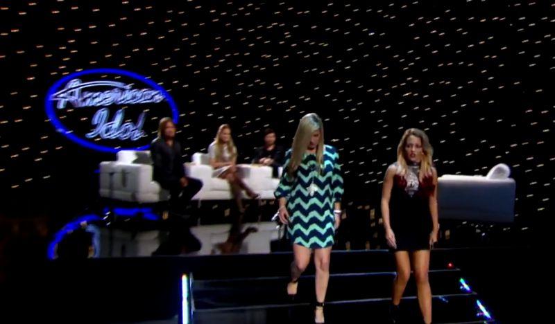 Judges eliminated Rachel & kept Maddie Walker