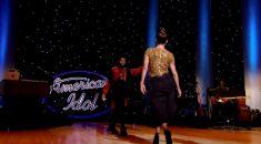 Jennifer Lopez walks on stage