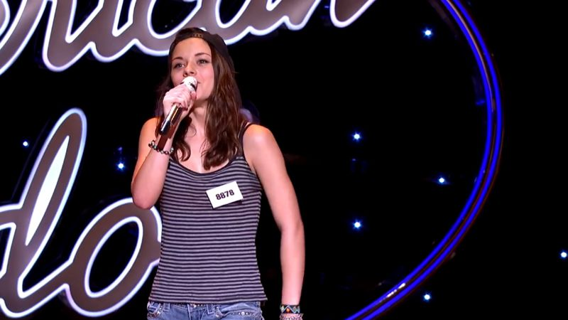 Shannon Berthiaume performs in Hollywood Week – 02