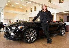 Caleb Johnson & his new Ford Mustang GT - 01