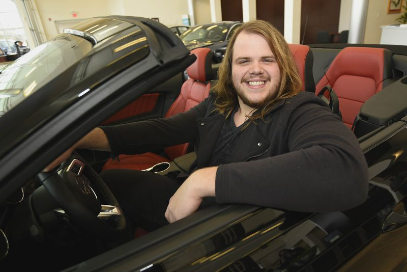 Caleb Johnson & his new Ford Mustang GT – 02