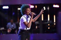 Tyanna Jones performs