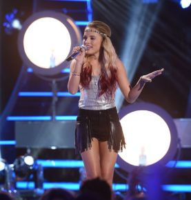 Maddie Walker performs on AMERICAN IDOL