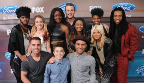 American Idol 2015 Top 12 Finalists Party