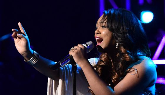 Sarina-Joi Crowe performs on American Idol 2015