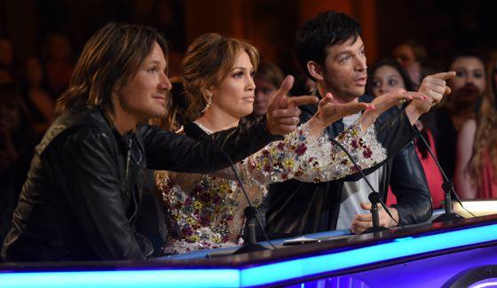 American Idol 2015 Judges give feedback to Season 14 finalists