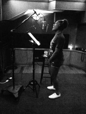 Tyanna Jones in the Idol Studio